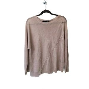 Beige Sweater | Line the Label